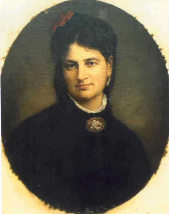 Gheorghe Tăttărescu - Soţia pictorului, Maria Tăttărescu