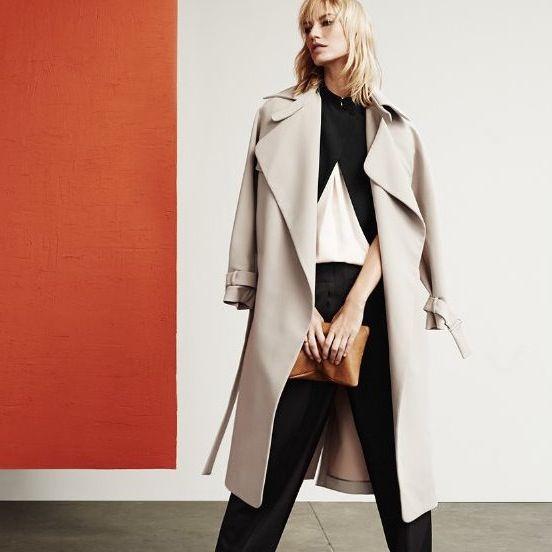 全体的に軽い印象なのがGOOD☆ガウントレンチコートのコーデ、スタイル・ファッションの着こなし♪