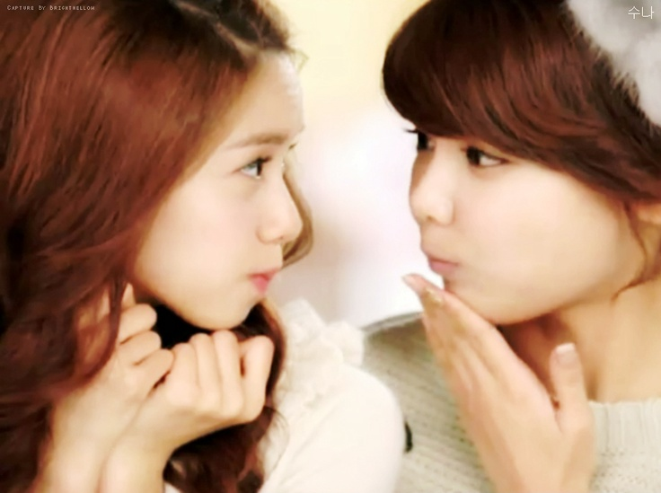 cute Yoona and Sooyoung