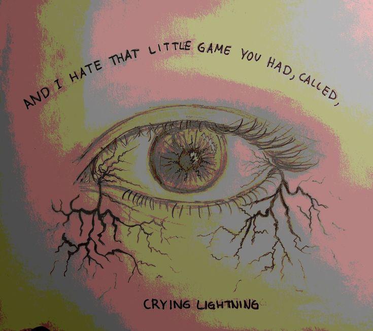 Arctic Monkeys ~ Crying Lightning *Not my original design*