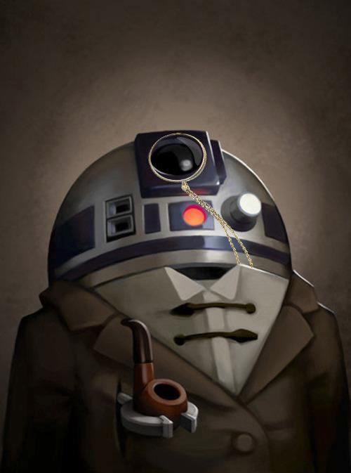 Sherlock R2-D2 @Brittany Daniels- doesn't this remind you of Chris?