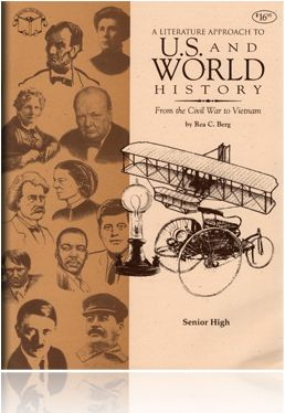 In this literature-based survey of this period, students will read such classics as Uncle Tom's Cabin, The Red Badge of Courage, Around the World in 80 Days, The Hiding Place, House of Sixty Fathers, The Endless Steppe, The Jungle and many more.This study also includes complete biographies of Hitler, Stalin, Teddy Roosevelt and other key figures of this period.This one to two-year course is designed for Senior High students, with teacher notes included.