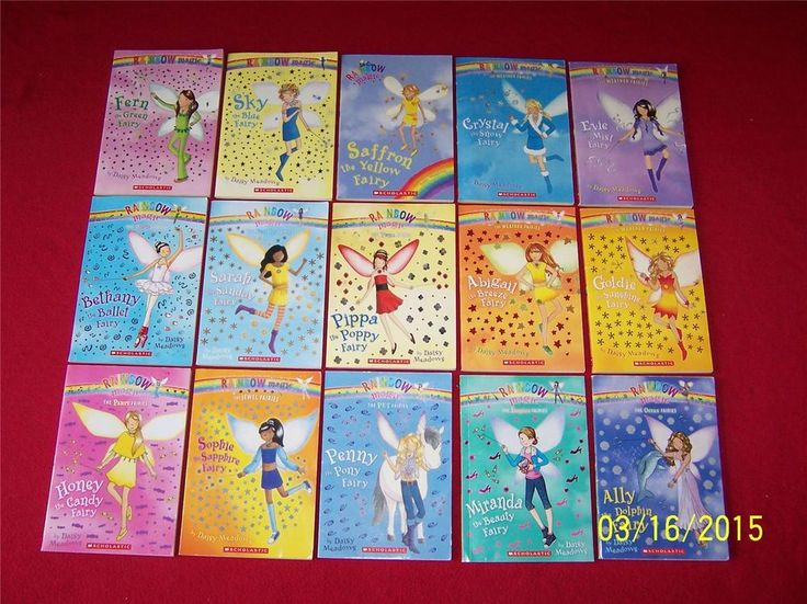 15 Rainbow Magic Fairies Books-RL 2 AR-Ages 6-9~-2nd grade Chapter Books