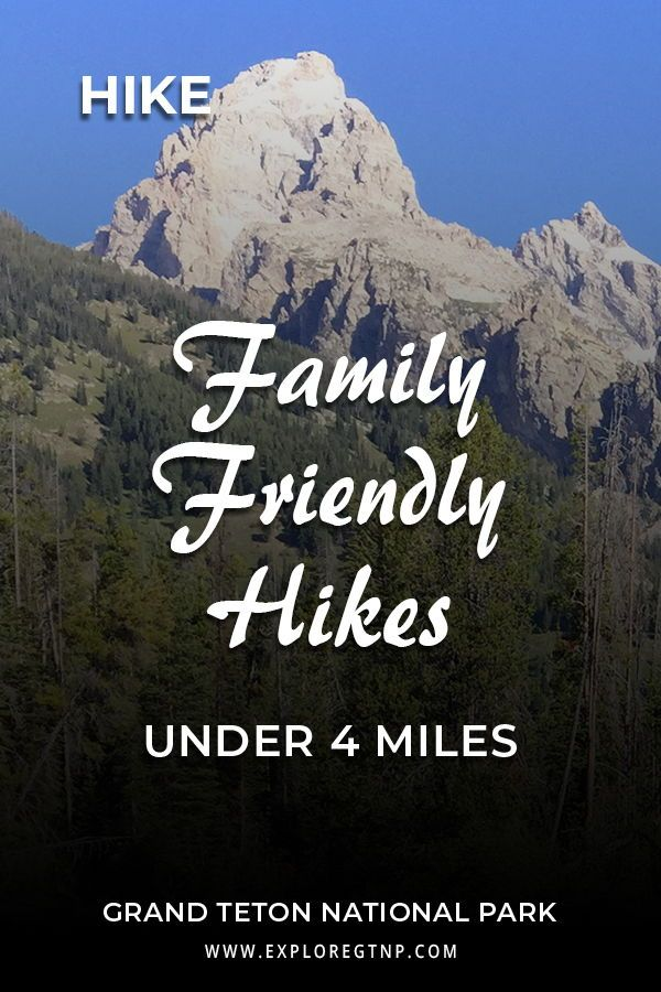 Four Scenic Day Hikes Under Four Miles in Grand Teton National Park