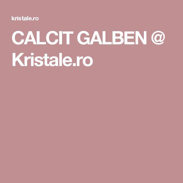 CALCIT GALBEN @ Kristale.ro