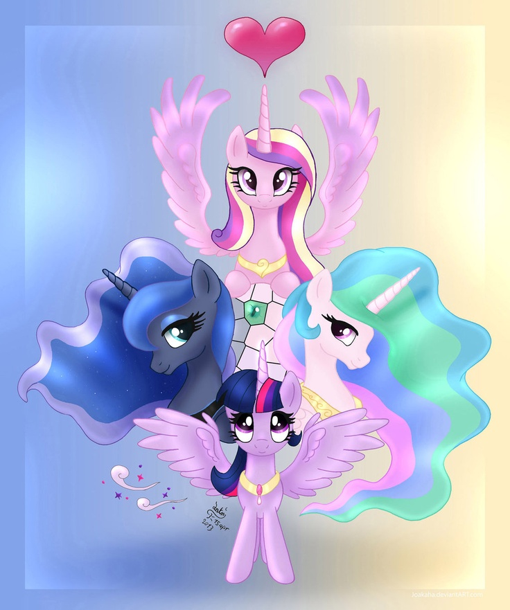21 best images about all mlp princesses on pinterest armin my little pony and levis - Princesse poney ...