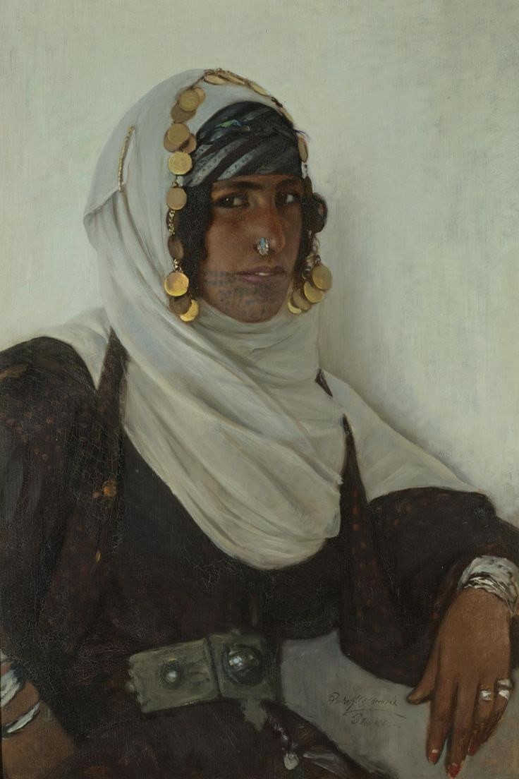 Rudolf Swoboda (Austrian, 1859-1914) Girl from Damascus