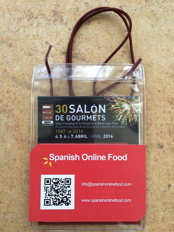 [ES] Visita al @SalóndeGourmets de Madrid.  [EN] Visit to the 30th Salon de Gourmets Fair.  [FR] Visitez le Salon Gourmets Madrid.  [DE] Besuch der 30. Salon de Gourmets Messe.  www.spanishonlinefood.com  #SoF #ComidaEspañola #España #SalónDeGourmets #Madrid #FeriaInternacional #SpanishFood #Spain #InternationalFair #NourritureEspagnole #Espagne #SpanischesEssen #Spanien #SpanishOnlineFood  #Gourmet #Delicatessen #Yummy #Food #Foodies #Instafood #Instagood Spanish Food Comida Española