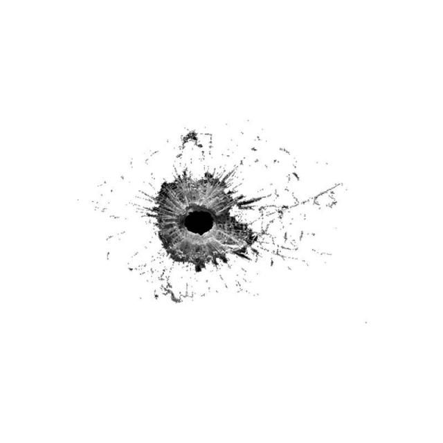 Bullet Mark Impact On Mirror Bullet Holes Bullet Background Images For Editing
