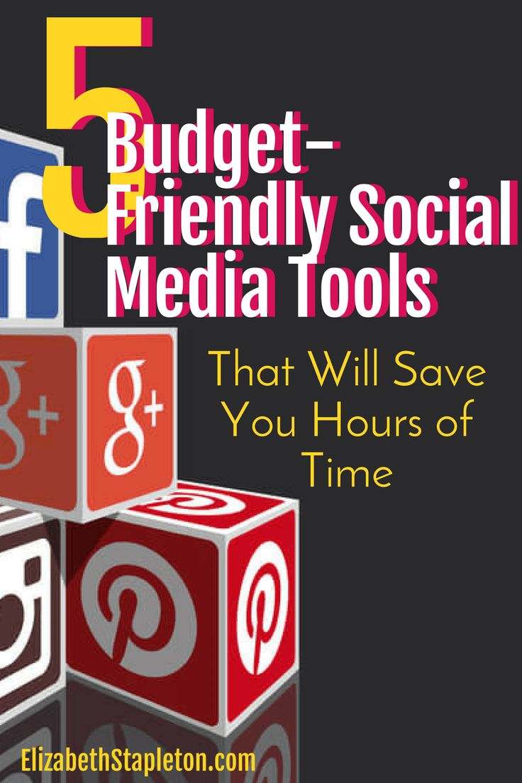 5 Social Media Scheduling Tools That will save you hours of time | budget friendly social media | social media marketing tools