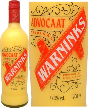 Advocaat (or a snowball) - I remember this being a popular drink at Christmas