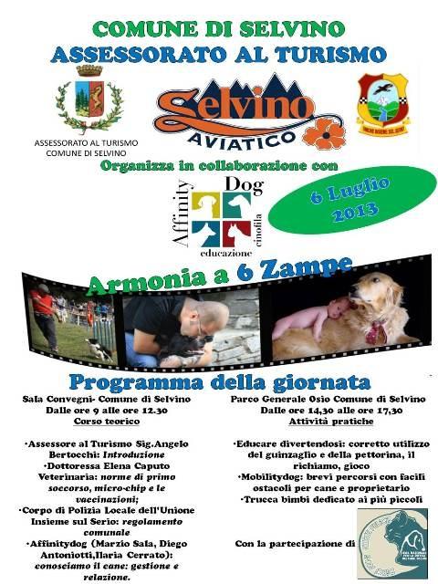 #Cuccefelici @ Armonia a 6 #zampe: 6/7 #Selvino #Bergamo - Non mancate!