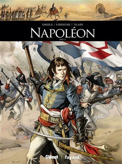 1. Les premières campagnes de Napoléon Bonaparte, entre 1793 et 1799 : de la prise de Toulon au retour d'Egypte.  2. Le parcours de Napoléon Bonaparte, du coup d'Etat de 1799 jusqu'à l'apogée de l'Empire en 1810.  3. Le parcours de Napoléon Bonaparte de la naissance de son fils en 1811 au retour de ses cendres en France, en passant par ses revers militaires, les défections de ministres et de généraux, ou ses combats contre la Coalition.   Cote: BD S557n v.1-v.3