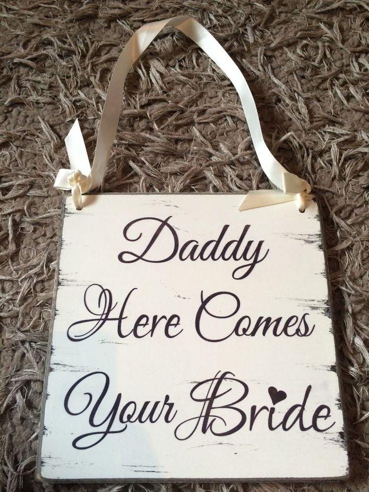 Wedding Sign Page Boy