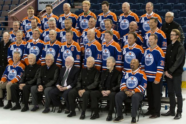 Oilers '84 reunion unmatched in pro sports