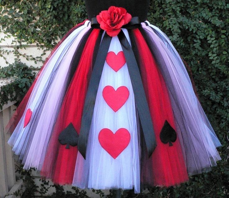 Queen of Hearts Adult Teen Preteen Costume Tutu by TiarasTutus, $170.00