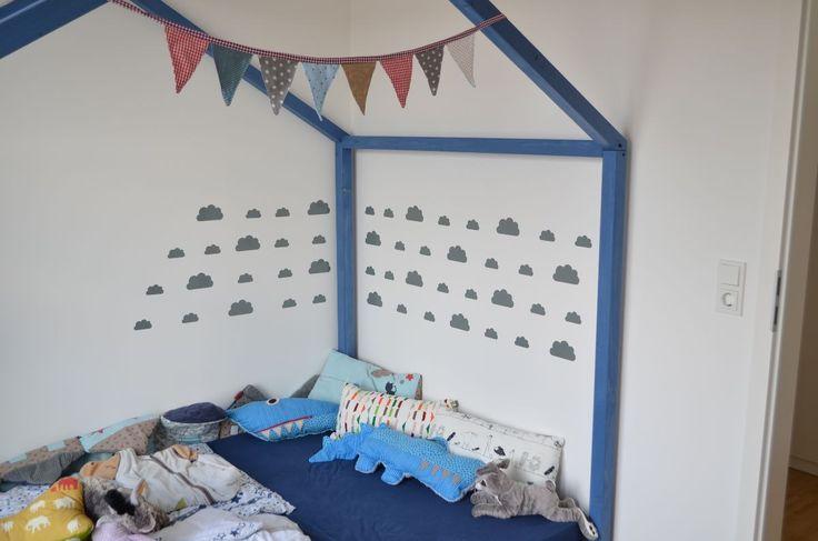 die besten 25 hausbett kind ideen auf pinterest. Black Bedroom Furniture Sets. Home Design Ideas