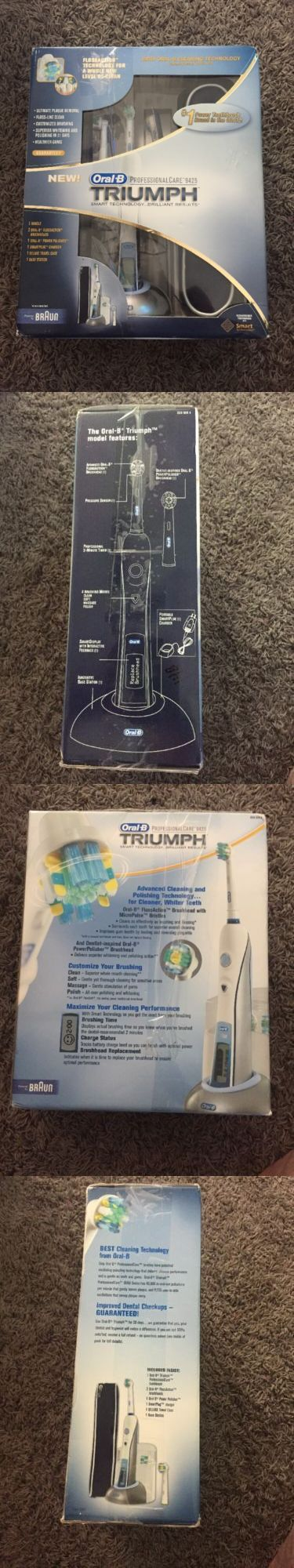 Electric Toothbrushes: Brand New Genuine Oral B Triumph Professional Care 9425 Braun -> BUY IT NOW ONLY: $79.99 on eBay!
