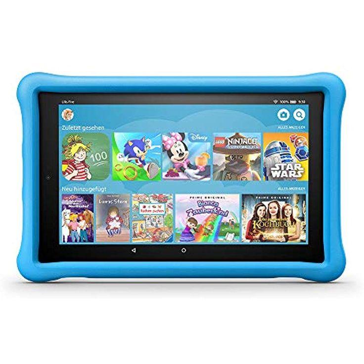 La nueva tableta Fire HD 10 Kids Edition 2565 cm 101 pulgadas 1080p Full HD Display 3 …   – Amazon-Geräte  Zubehör