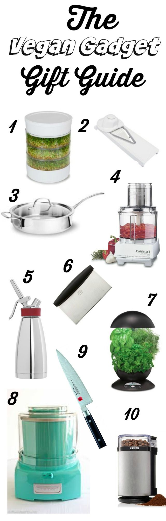 Use this Vegan Gadget Gift Guide to get your vegan the perfect gift for the holidays!