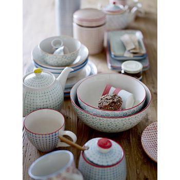 6 tasses à thé Carla