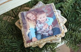A Diamond in the Stuff: DIY Photo Tile Coasters                                                                                                                                                                                 More