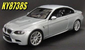 Kyosho BMW M3 E93M Convertible Silver Due Dec 2008 http://www.comparestoreprices.co.uk/diecast-model-cars--others/kyosho-bmw-m3-e93m-convertible-silver.asp