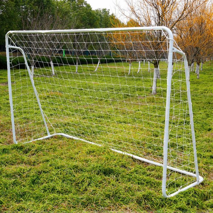 8' x 5' Soccer Goal Training Set with Net Buckles Ground Nail Football Sports