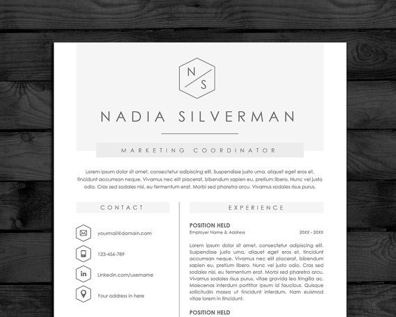 40 best Resume Templates images on Pinterest Cv resume template - resume download in word