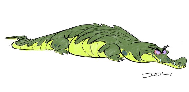 Fundamentals Of Character Design Class With David Colman : Best images about animals crocodilians on pinterest