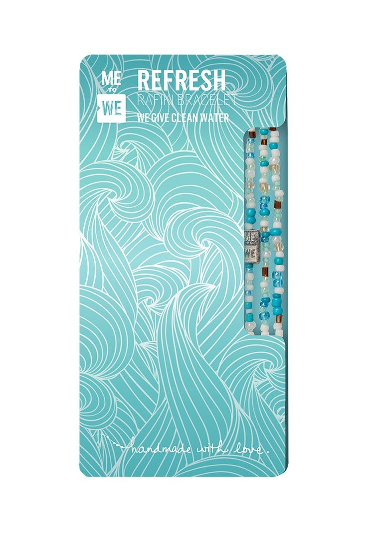 Water Series Rafiki Bracelet - Refresh $10