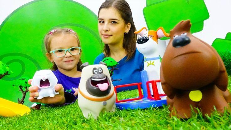 Детские игрушки, парк аттракционов и мультфильм тайная жизнь домашних жи...