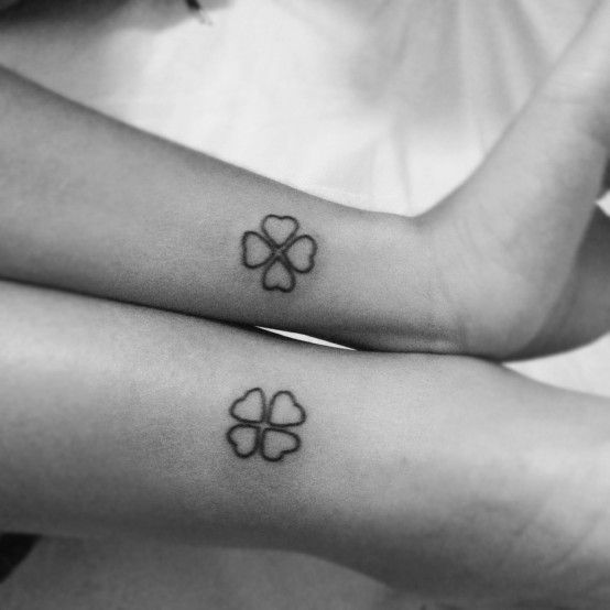 clover+kleeblatt+tattoo.jpg (554×554)