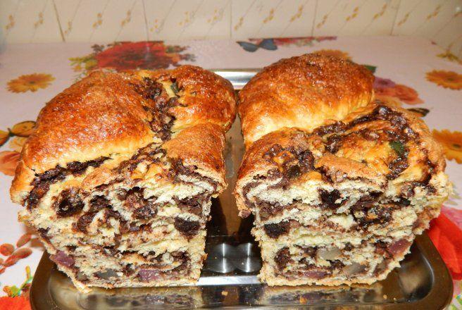 Retete Culinare - Cozonac pufos fara framantare
