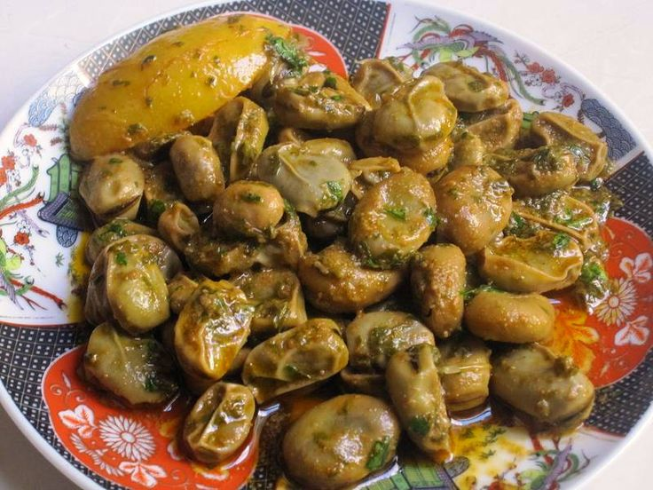 483 best moroccan food images on pinterest kitchens moroccan moroccan fava bean salad with olive oil and spices moroccans typically eat it as a dip with moroccan bread or as a finger food whether or not to remove the forumfinder Image collections