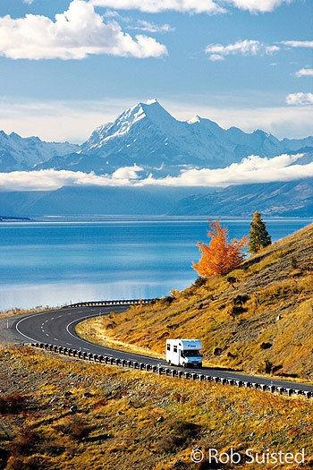 New Zealand's highest peak, Aoraki - Mt Cook