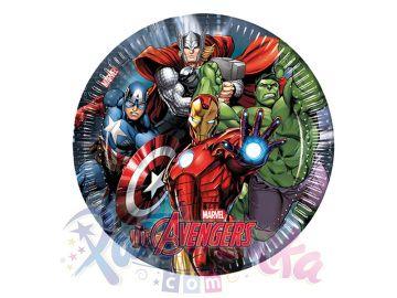 Avengers Doğum Günü Tabağı