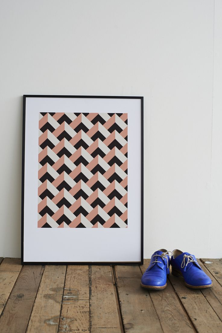 ROSE PEAKS HAND-PULLED SCREEN PRINT  Hand screen printed onto beautifully textured paper made in England. Available unframed or framed in an aluminium matt black finish.  Size: 50cm x 70cm  £55.00 OR FRAMED FOR ONLY £125 #lanebypost #sardines #madeinbritain