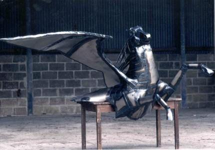 Metal Pegasus, Winged steel horse