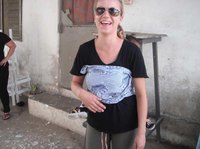 Amy's Volunteer Report. Nursing in Ghana.  volunteer overseas, volunteer opportunities.