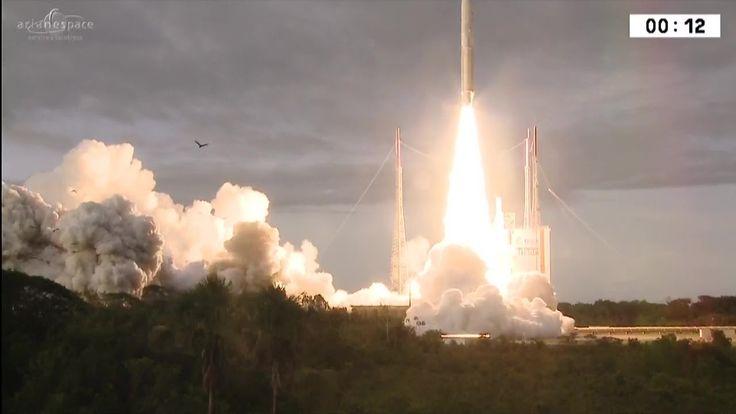 Arianespace Flight VA238 – Hellas Sat 3-Inmarsat S EAN and GSAT-17
