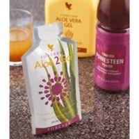 Forever Aloe2Go est une combinaison d'Aloe Vera Gel et de Forever Pomesteen Power, un savoureuse cocktail des deux boissons combinées dans u...