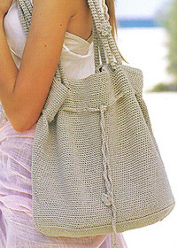 Free Pattern – Patons Rose Bag