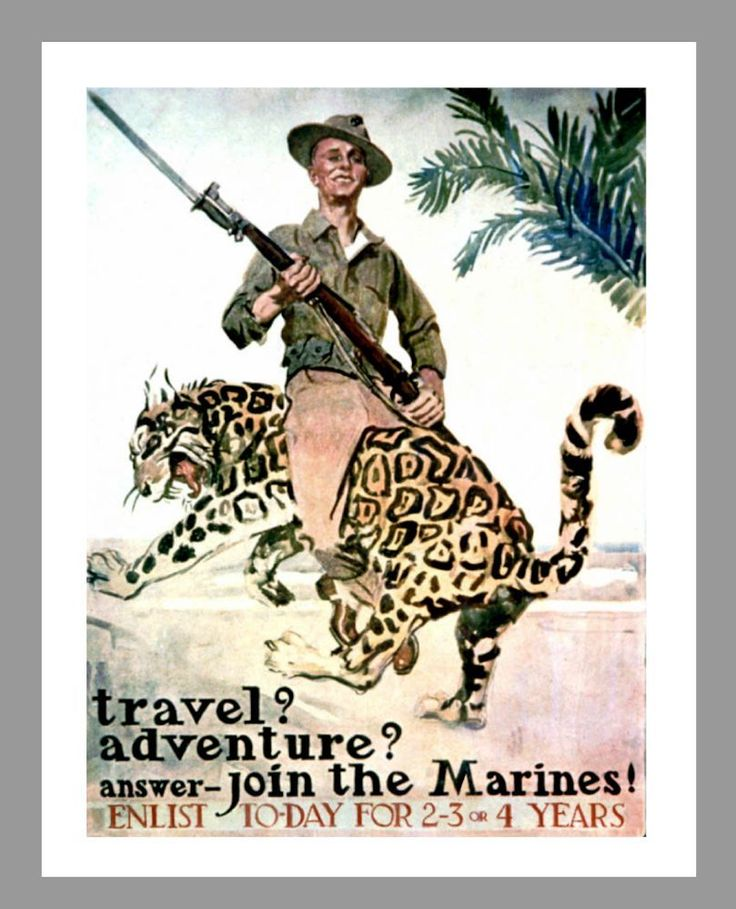 60 Best Marine Corps Recruiting Posters Images On