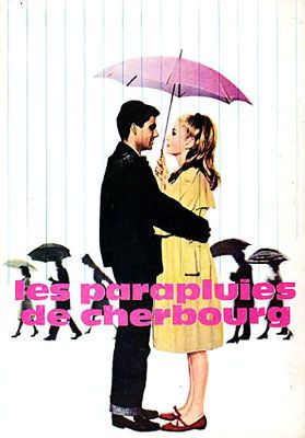 'les parapluies de Cherbourg', 1964