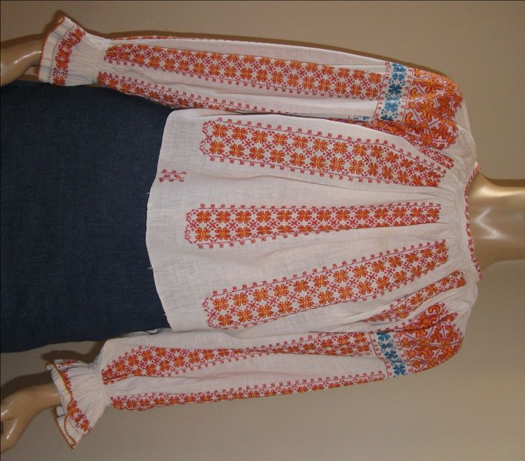 Romanian blouses - Antique Romanian blouses - GreatBlouses.com