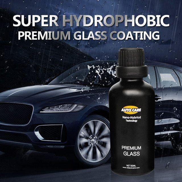 Auto Care 50ml 9h Crystal Rain Water Repell High Gloss Glass Car Liquid Ceramic Coat 50ml Auto Glass Crystal Coating Rain Auto Glass Car Coating Glass