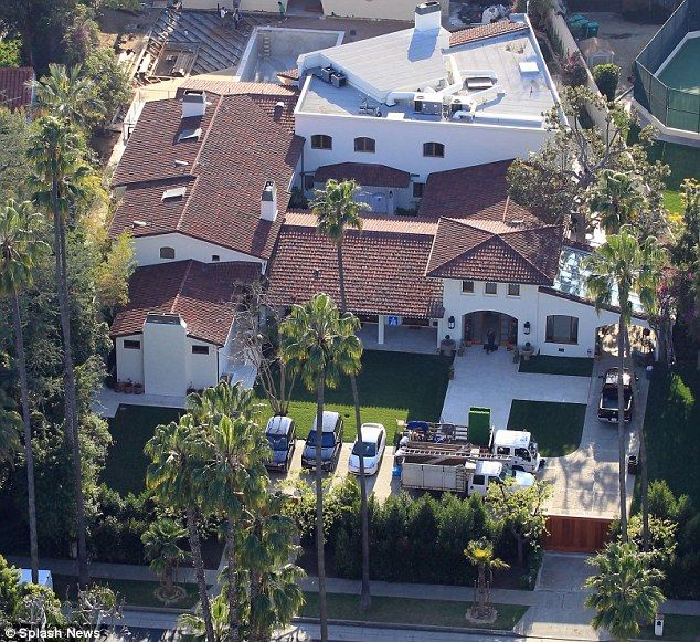Big Houses In Los Angeles California: The United States Of America / California / Los Angeles