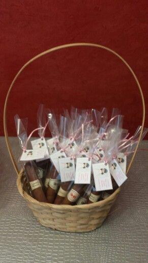 Puros de chocolate, como recordatorio para ellos en la Comunión de Marta!
