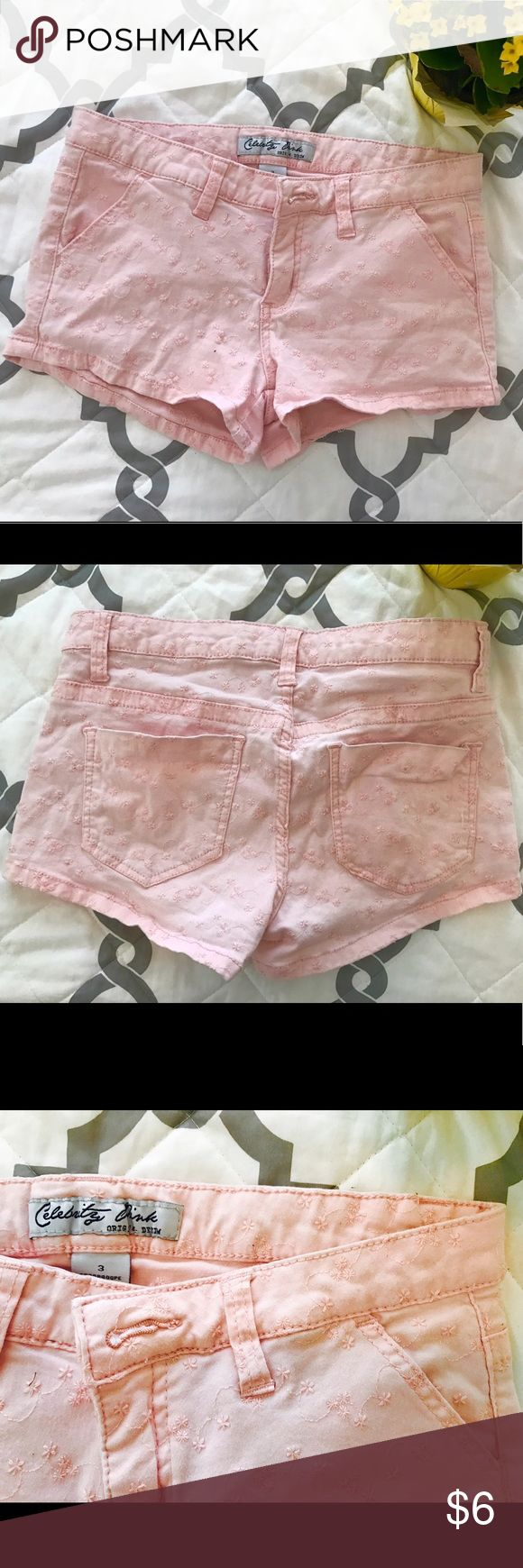 Light Pink Shorts These are comfortable light pink shorts Shorts